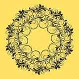 Bello modello circolare di floreale Immagini Stock Libere da Diritti