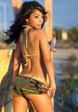 bello modello del latino sexy Fotografie Stock Libere da Diritti