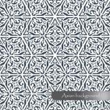 Bello modello geometrico nello stile asiatico Backgro del contesto Fotografie Stock Libere da Diritti
