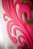 Bello modello rosa luminoso fotografia stock
