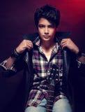 Bello modello teenager Fotografie Stock Libere da Diritti