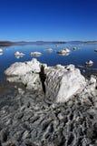 Bello mono paesaggio del lago Fotografia Stock