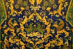 Bello mosaico nella cattedrale di Vank, Ispahan, Iran Fotografie Stock Libere da Diritti