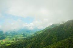 Bello Mountain View Fotografia Stock