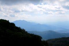 Bello Mountain View, più alta montagna Fotografie Stock Libere da Diritti
