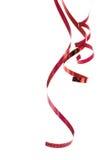 Bello nastro rosso Immagini Stock