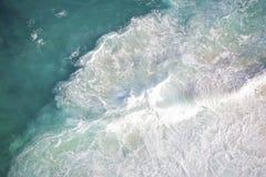 Bello oceano blu profondo Immagini Stock