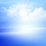 Bello orizzonte di mare. Fotografia Stock Libera da Diritti