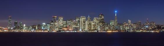 Bello orizzonte di San Francisco Fotografia Stock Libera da Diritti