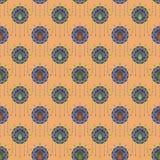 Bello ornamento antico senza cuciture del modello di art deco geometrico Immagini Stock