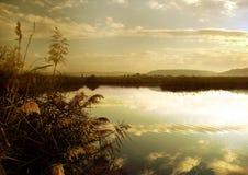 Bello paesaggio Fotografia Stock