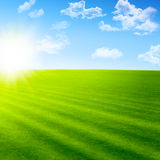 Bello paesaggio Immagine Stock
