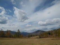 Bello paesaggio Altai della montagna Fotografie Stock