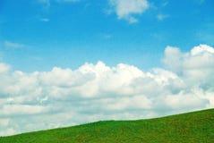Bello paesaggio con la collina Fotografia Stock Libera da Diritti