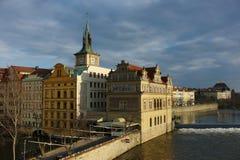 Bello paesaggio da Praga Immagine Stock Libera da Diritti