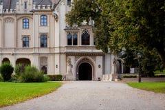 Bello paesaggio del castello Fotografia Stock Libera da Diritti
