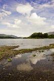 Bello paesaggio del distretto del lago Fotografie Stock