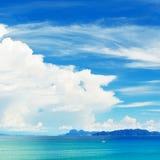 Bello paesaggio del mare Immagine Stock