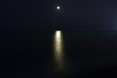 Bello paesaggio del mare Immagini Stock