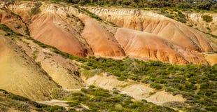 Bello paesaggio del parco di conservazione della baia di Hallet, Australia Meridionale Immagine Stock
