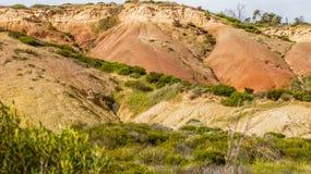 Bello paesaggio del parco di conservazione della baia di Hallet, Australia Meridionale Immagini Stock Libere da Diritti