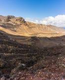 Bello paesaggio del parco nazionale di Tongariro fotografia stock libera da diritti
