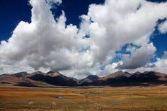 Bello paesaggio del plateau Immagini Stock