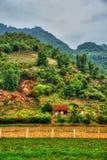 Bello paesaggio del Vietnam del Nord Immagine Stock Libera da Diritti