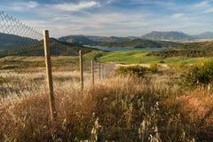 Bello paesaggio dell'Andalusia Immagine Stock