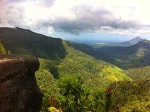 Bello paesaggio dell'isola delle Mauritius Fotografie Stock Libere da Diritti