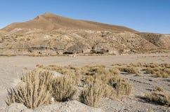 Bello paesaggio della Bolivia Immagini Stock Libere da Diritti