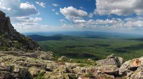Bello paesaggio della montagna Immagine Stock Libera da Diritti