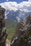 Bello paesaggio della montagna di estate Fotografie Stock Libere da Diritti