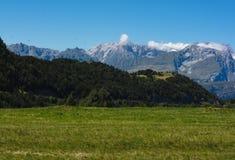 Bello paesaggio della montagna di estate Immagini Stock Libere da Diritti