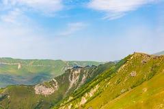 Bello paesaggio della montagna fotografie stock libere da diritti