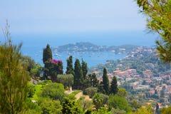 Bello paesaggio della natura del Alpes-Maritimes Fotografia Stock