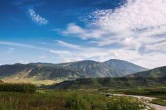 Bello paesaggio della nazionalità di Yi Immagine Stock Libera da Diritti