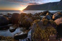 Bello paesaggio della Norvegia. Fotografia Stock
