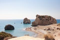 Bello paesaggio della riva di mare Fotografie Stock Libere da Diritti