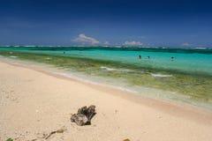 Bello paesaggio della spiaggia fotografia stock