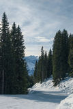 Bello paesaggio delle alpi Fotografie Stock Libere da Diritti