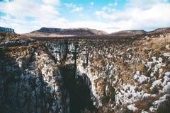 Bello paesaggio delle gole du Verdon in Francia del sud Fotografia Stock Libera da Diritti