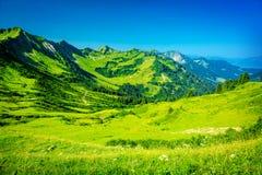 Bello paesaggio delle montagne Immagine Stock
