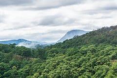 Bello paesaggio delle montagne Fotografia Stock