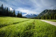 Bello paesaggio delle montagne di Tatry Fotografia Stock Libera da Diritti