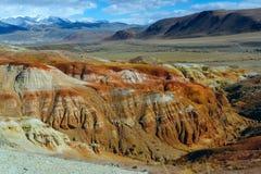 Bello paesaggio di Altai, autunno, montagna Russia della montagna di Altai Immagine Stock Libera da Diritti