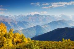Bello paesaggio di autunno Fotografie Stock Libere da Diritti