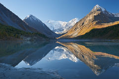 Bello paesaggio di autunno, montagne Russia di Altai Fotografia Stock Libera da Diritti