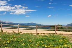 Bello paesaggio di Colorado Fotografia Stock Libera da Diritti