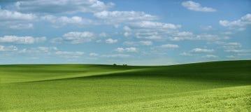 Bello paesaggio di favola con le ombre Immagini Stock Libere da Diritti